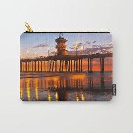 Lifeguard Tower  / Huntington Beach Pier Carry-All Pouch