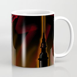 red Raven and fortress Coffee Mug