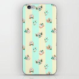 Rowlets iPhone Skin