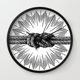 infinity knot Wall Clock