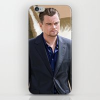 inception iPhone & iPod Skins featuring Inception - Cobb by Mel Hampson