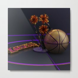 Golden Ballers Metal Print