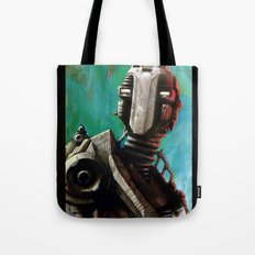 Twin #1 Robot Tote Bag