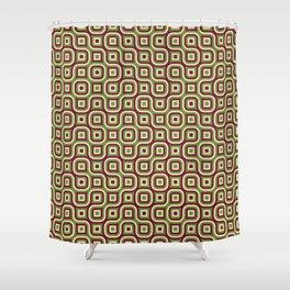 Truchet Tiles 2 Shower Curtain