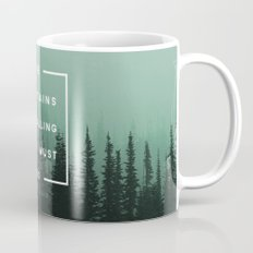 The Mountains are Calling Mug