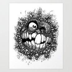 Snarky Art Print