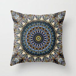 Mandala Porto Throw Pillow