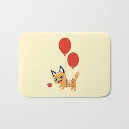 Balloon Cat Bath Mat