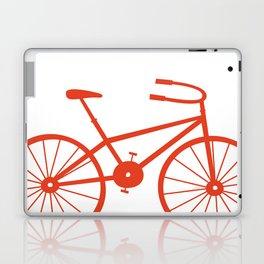 Red Bike by Friztin Laptop & iPad Skin