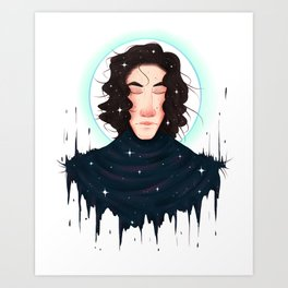 Born of Stars Art Print