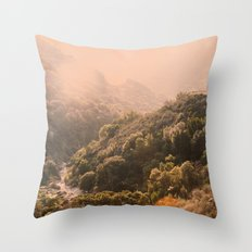 Pastel Summer Throw Pillow