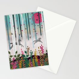 Flying Horses Stationery Cards