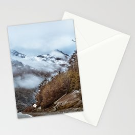 Patagonian Highway, Los Lagos, Chile Stationery Cards