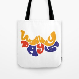 Wavy Days Tote Bag