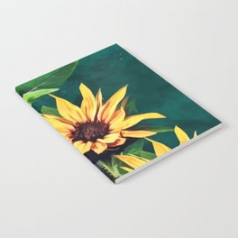 Watercolor sunflowers Notebook