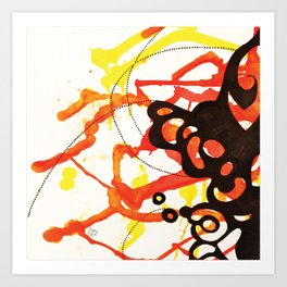 Abstract#4 Art Print