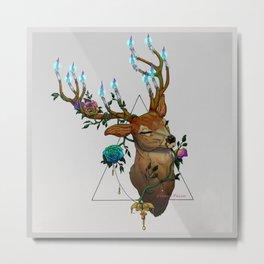 Christmas soul - Hart Metal Print