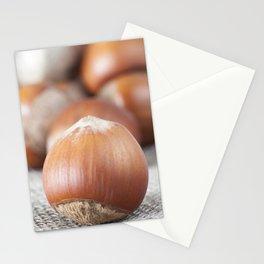 hazelnut shell Stationery Cards