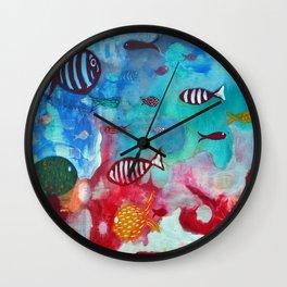 Litmus Wall Clock