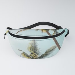 Palm Tree Beach Summer Fanny Pack