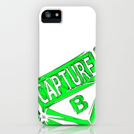 Always Capture B iPhone Case