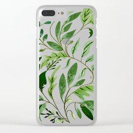 Abundance || Clear iPhone Case