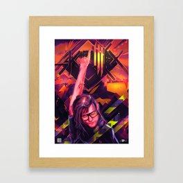 Skrill EX Framed Art Print