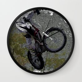 Off-roading - Motocross Racing Wall Clock