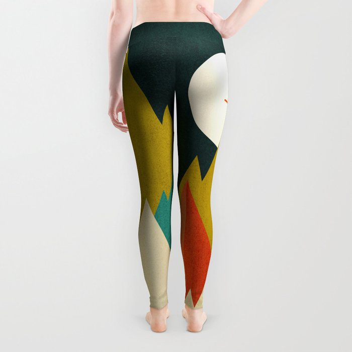 Life is a travel Leggings