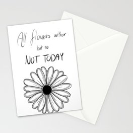 Not Today | BTS Stationery Cards