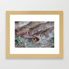 The Squeaky Wheel Framed Art Print