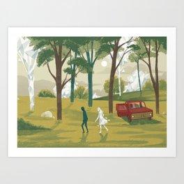 Glitch 01 Art Print