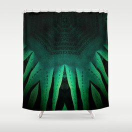 Venice By Numbers Shower Curtain