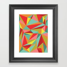 Diamonoid: End of Summer Soirée Framed Art Print