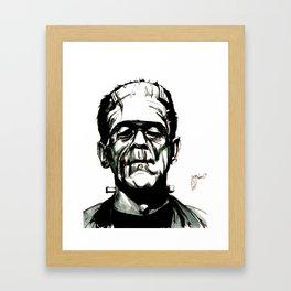 Boris Karloff's Monster Framed Art Print