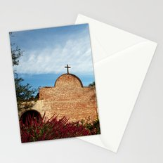 Man reaching out Stationery Cards