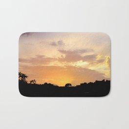 guate sunset Bath Mat
