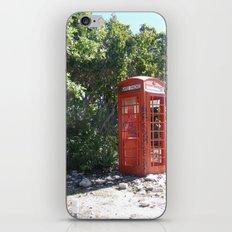 Telephone Box iPhone & iPod Skin