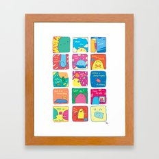 Can Do Framed Art Print