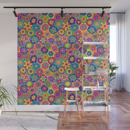 Millefiori-Crayon Colors Wall Mural