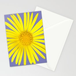 Daisy doronicum orientale Stationery Cards