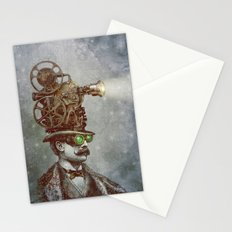 The Projectionist (colour option) Stationery Cards