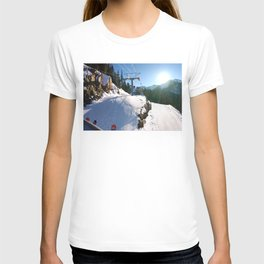 Mountains transport T-shirt
