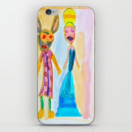 Masqueraders iPhone Skin