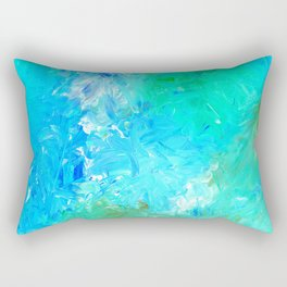 Soft Bliss No.1r by Kathy Morton Stanion Rectangular Pillow