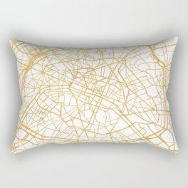 PARIS FRANCE CITY STREET MAP ART Rectangular Pillow