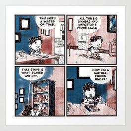 Laugh Menu 77 Art Print