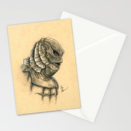 The Creature From The Black Lagoon  Stationery Cards