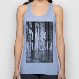 Forest - Lose Yourself Unisex Tank Top