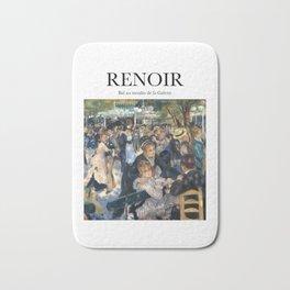 Renoir - Bal au moulin de la Galette Bath Mat